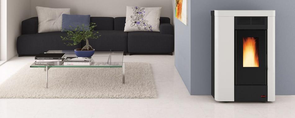 alpha solar kaminofen pellletofen extraflame annabella. Black Bedroom Furniture Sets. Home Design Ideas