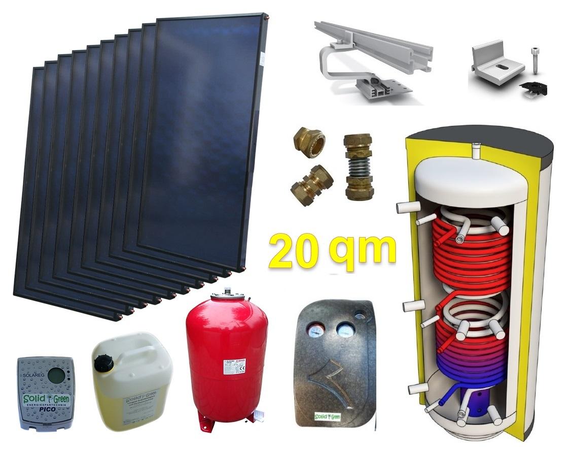 alpha solar solaranlage f r heizung und warmwasser amp. Black Bedroom Furniture Sets. Home Design Ideas